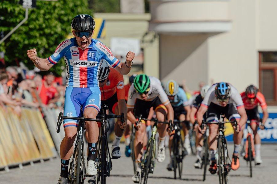 Pavel Bittner vyhrál první etapu Závodu míru U23 - zdroj foto: ZMU23 - Jan Brychta