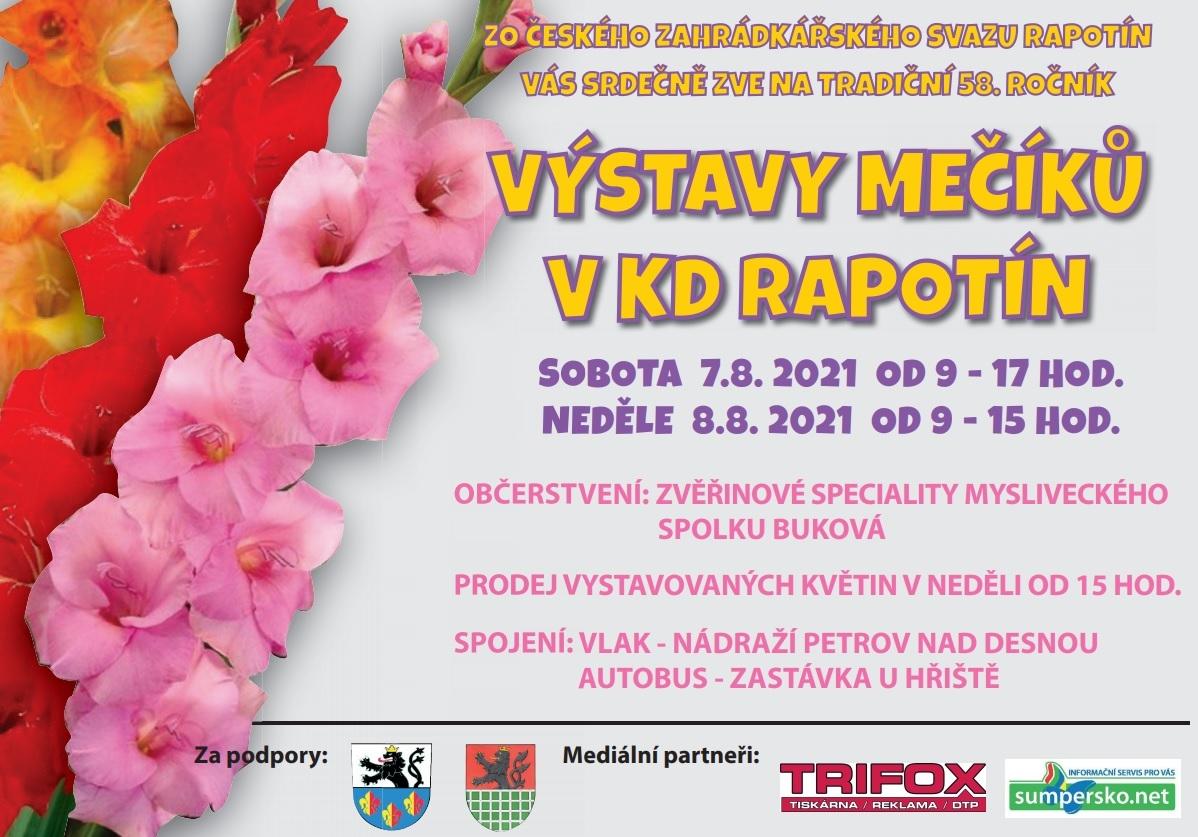 pozvánka zdroj: ZO ČSZ Rapotín