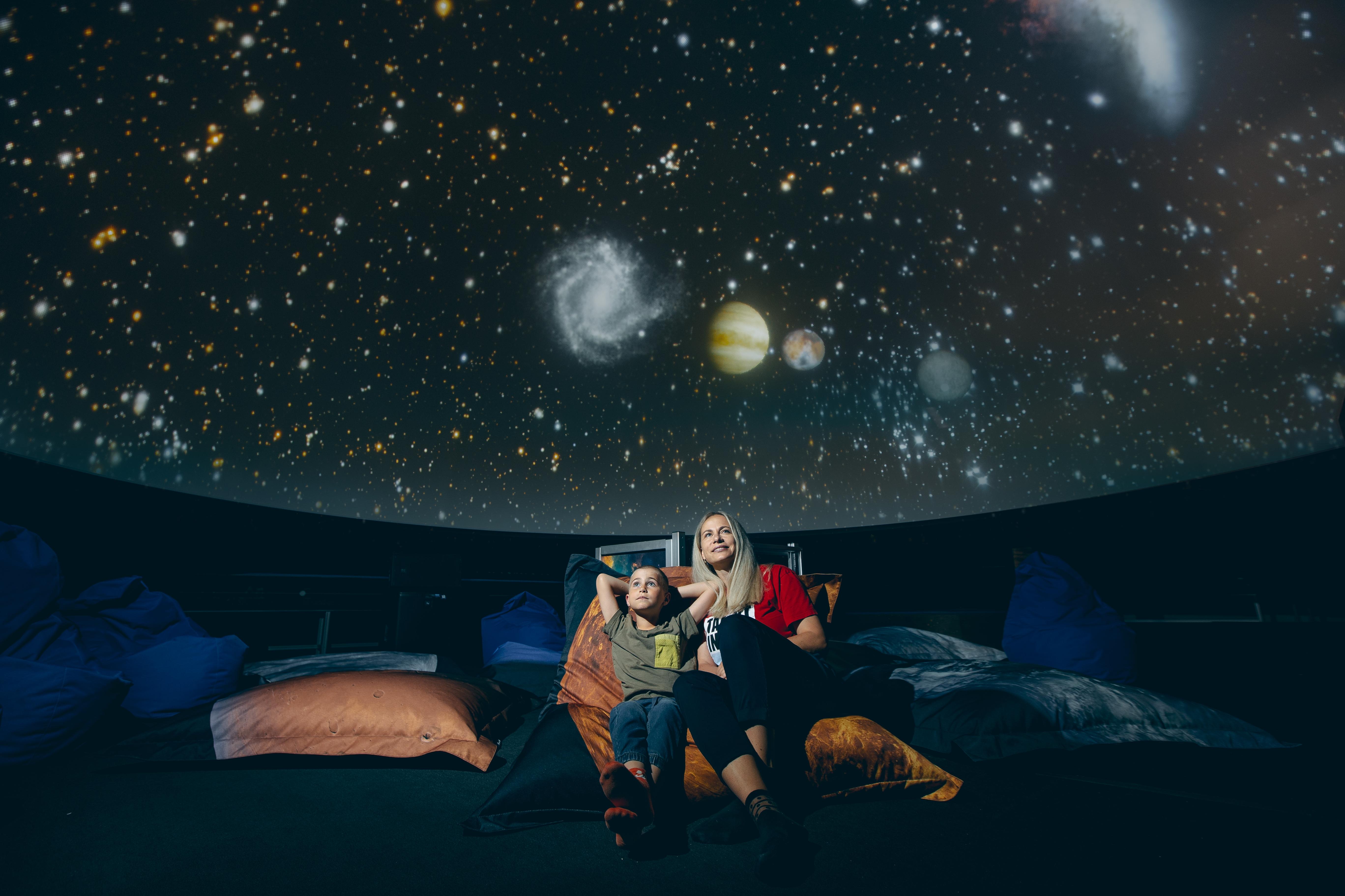 planetárium zdroj foto: M. Vysloužilová